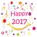 Happy New Year 2017 - Vector Stock Images