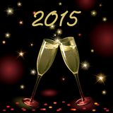 Happy new year 2015! Royalty Free Stock Photography
