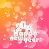 Happy New Year. Vector illustration of Happy New Year Stock Image