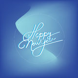 Happy new year. Vector illustration Royalty Free Illustration