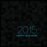 Happy New Year 2015. Vector Illustration Stock Photo