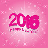 2016 happy new year. Happy new year 2016 vector illustration Royalty Free Stock Photos
