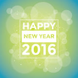 Happy New 2016 Year. Vector illustration Stock Photos
