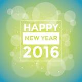 Happy New 2016 Year. Vector illustration. Happy New 2016 Year card. Vector illustration Stock Photos