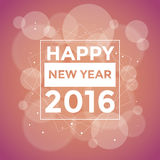Happy New 2016 Year. Vector illustration Stock Image