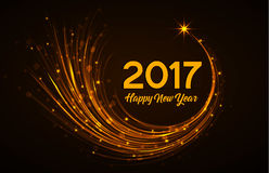 Happy New Year 2017 Royalty Free Stock Photos