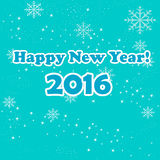 Happy new year vector illustration Royalty Free Stock Photo