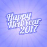 Happy New Year 2017 vector illustration Stock Photos