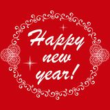 Happy New Year.  Vector Illustration Royalty Free Stock Image