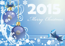 Happy new year 2015. Vector illustration for happy new year 2015 and merry Christmas Stock Photography