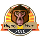 Happy new year 2016 Royalty Free Stock Images
