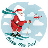 Happy New Year. Vector. Royalty Free Stock Images