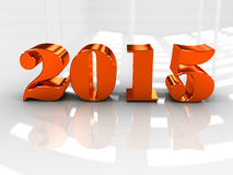 Happy New Year 2015. Vintage letterpress Happy New Year 2015 Royalty Free Stock Photo