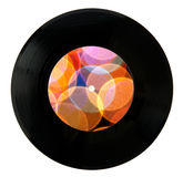 Happy New Year Vinyl record Royalty Free Stock Photo