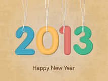 Happy new year wallpaper Stock Photo