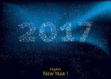 Happy New Year 2017 Royalty Free Stock Photos