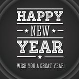 Happy new year, wish you a great year! vector illustration