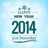 Happy new year wishes. Creative happy new year 2014 greeting wishes Stock Photo