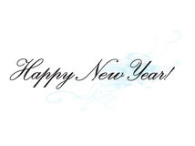 Happy new Year. Wishes Illustration Royalty Free Stock Photography