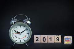 Happy new year 2019 Royalty Free Stock Images