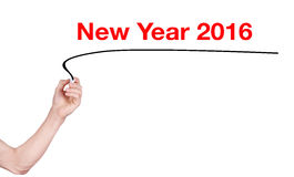 Happy New Year word Royalty Free Stock Image
