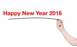 Happy New Year word Royalty Free Stock Photography