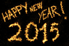 Happy New Year! 2015 Royalty Free Stock Image