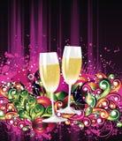 Happy New Years royalty free illustration