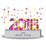 Happy new years background. Happy new years text for background Royalty Free Stock Image