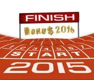 Happy New Yera 2015  Running Background Royalty Free Stock Photo