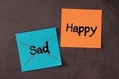 Happy, Not Sad Royalty Free Stock Image