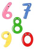 Happy numbers Stock Photo