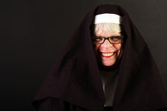 Happy Nun Royalty Free Stock Image