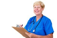 Happy nurse Stock Photo
