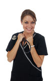 Happy Nurse Royalty Free Stock Images