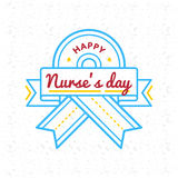 Happy nurses day greeting emblem stock vector illustration of happy nurses day greeting emblem stock vector illustration of element happy 85386561 m4hsunfo
