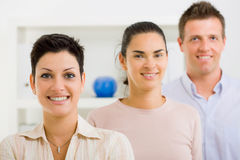 Happy office worker team Royalty Free Stock Photography