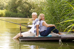 Happy old age Royalty Free Stock Photography