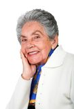 Happy old lady Royalty Free Stock Image