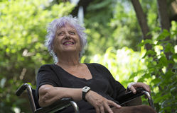 happy old woman Στοκ φωτογραφία με δικαίωμα ελεύθερης χρήσης