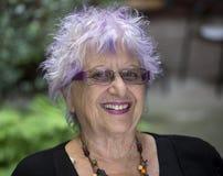 happy old woman στοκ εικόνα με δικαίωμα ελεύθερης χρήσης