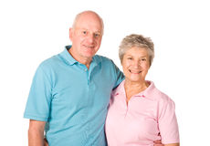 Happy older couple Royalty Free Stock Photo