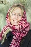 Happy older lady Stock Photography