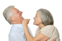 Happy older people Royalty Free Stock Photo
