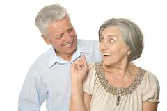 Happy older people Stock Image