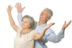 Happy older people Royalty Free Stock Photos