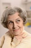 Happy older woman Stock Photography