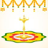 Happy Onam background Royalty Free Stock Photo