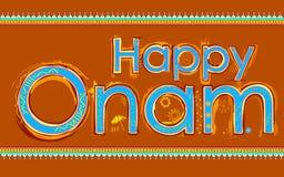 Happy Onam background Royalty Free Stock Image