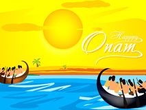 Happy Onam Background Stock Images